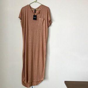 F21 Peach Dress Shirt